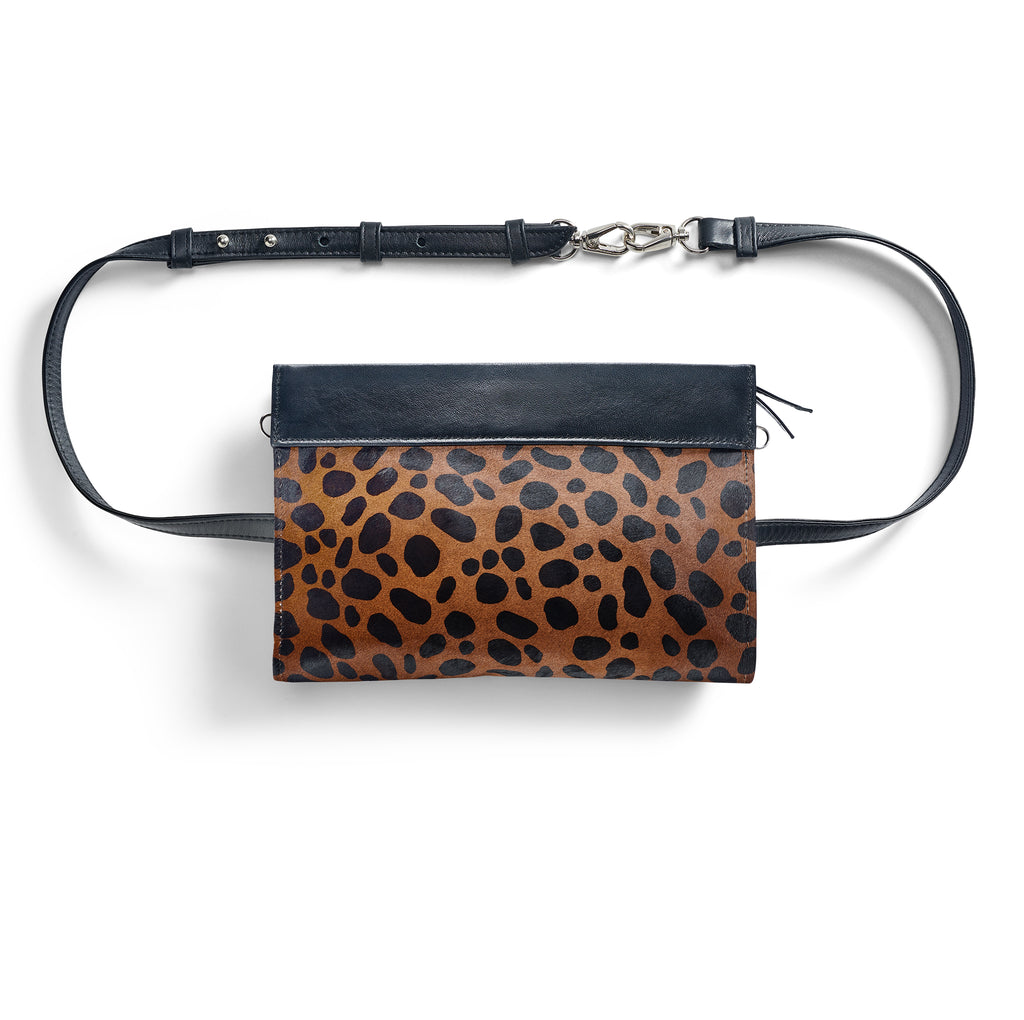 Gamechanger Classic Dark Cheetah 5-in-1 Convertible Crossbody