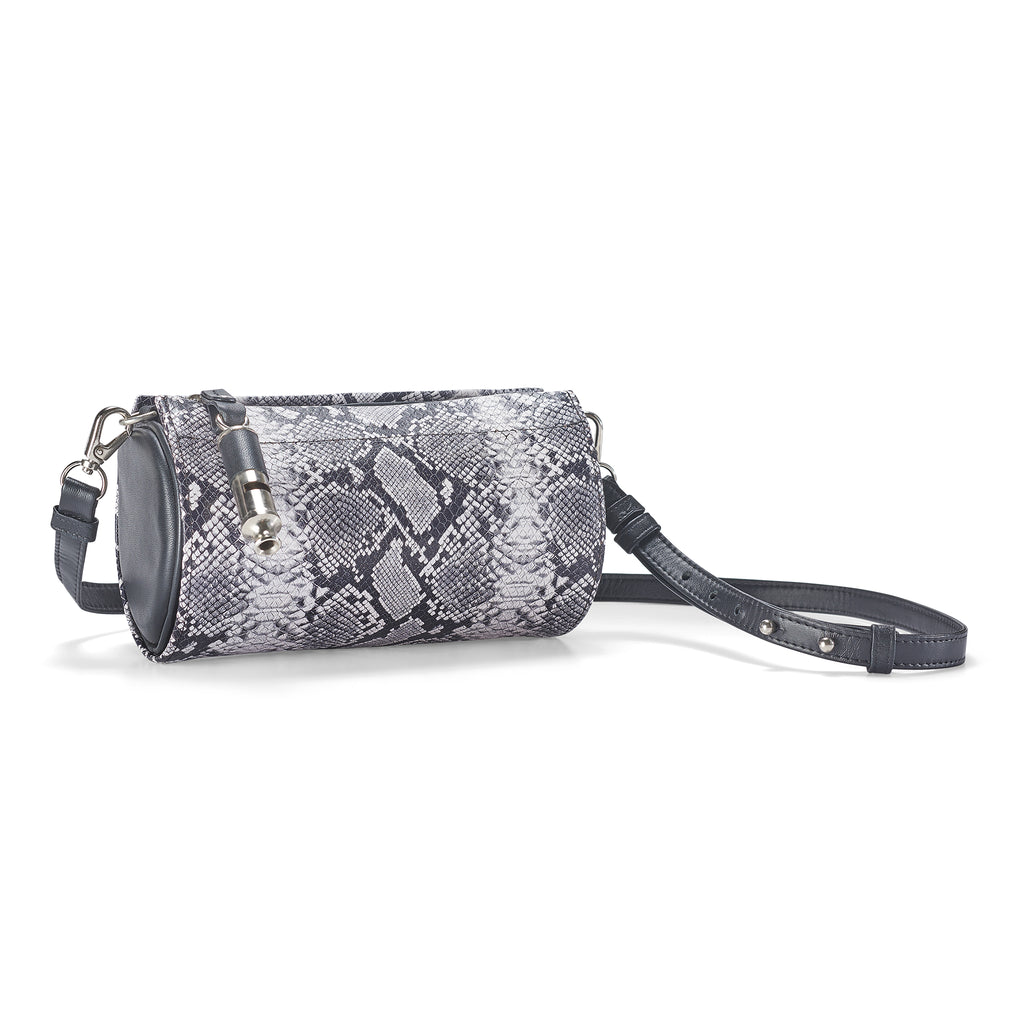 Gamechanger Barrel Snakeskin Print 5-In-1 Convertible Handbag