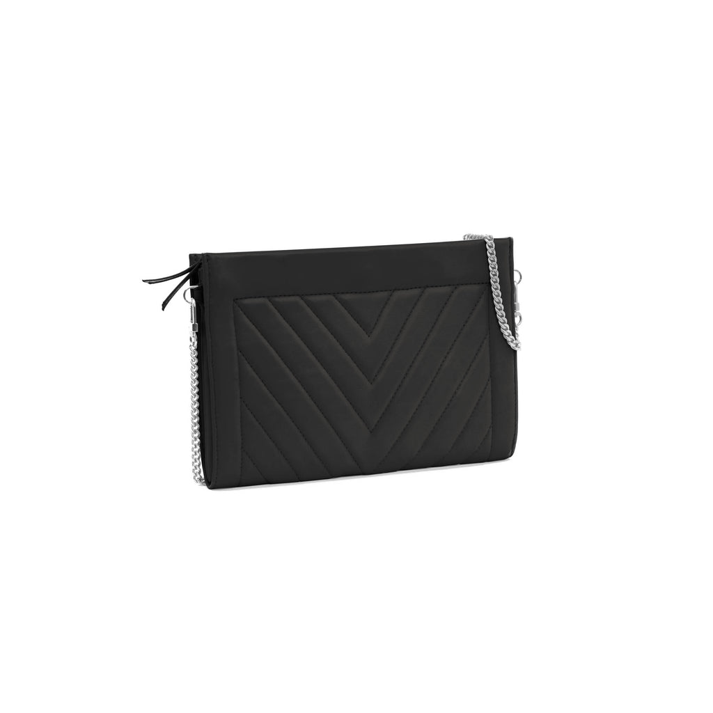 Gamechanger Classic Black V Lambskin 5-in-1 Convertible Crossbody