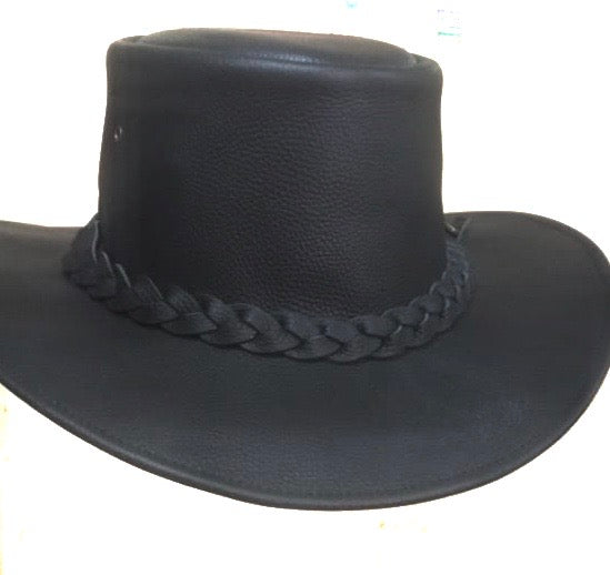 Leather Travel Hat