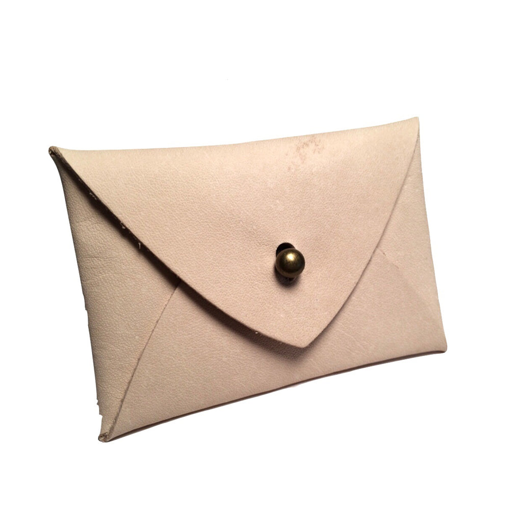 Mighty Mini Wallet - Natural Lambskin