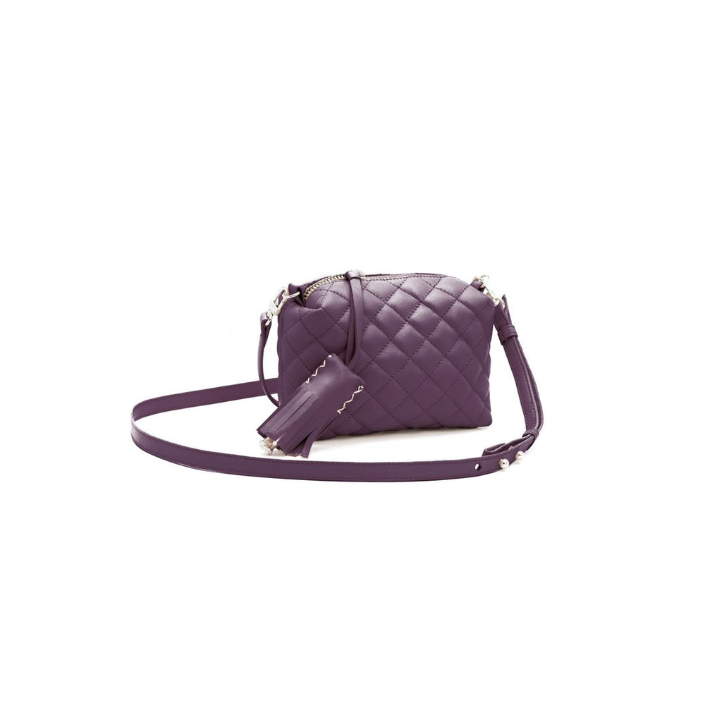 Mini Crossbody- Plum