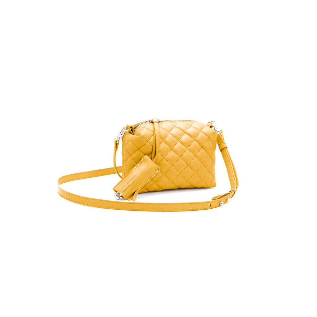 Mini Crossbody- Yellow