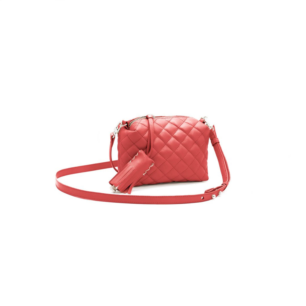 Mini Crossbody- Red