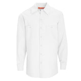 White Long Sleeve Work Shirt