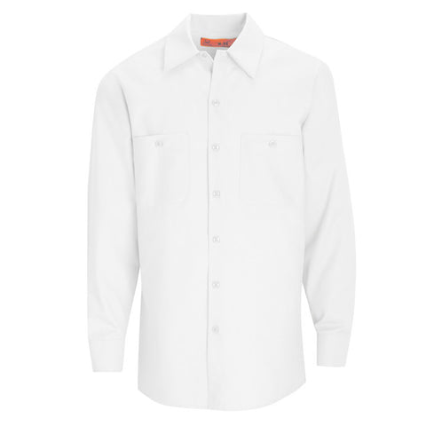 Light Blue Long Sleeve Work Shirt