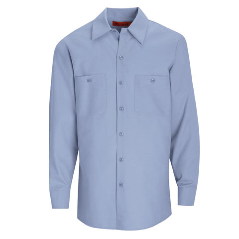 Grey Long Sleeve Work Shirt