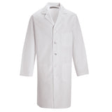 Lab Coat with Button Closure