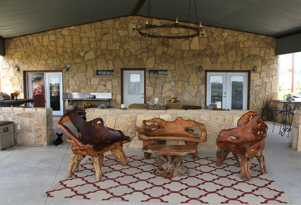 Teak Furniture Finds New Home
