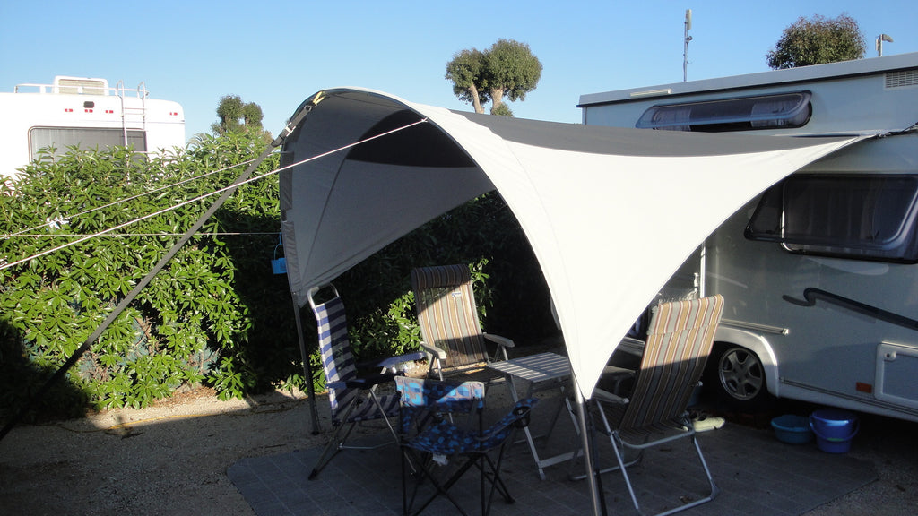 Visit from Rapido and Silver pop top caravan owners (vision canopy)