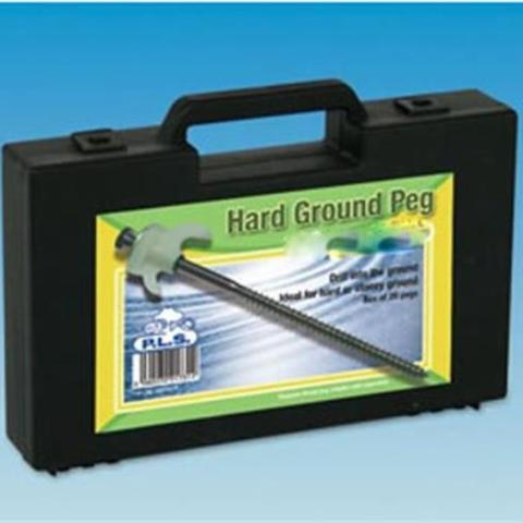 HARD GROUND PEGS (20)