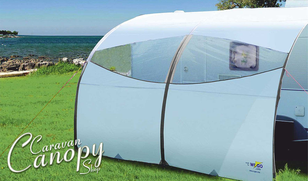 Ultralight Caravan Sun Canopies