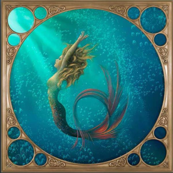 "Gallery 1870 Original Art Spotlight - ""Sea Goddess"""
