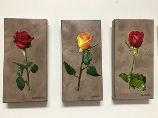Artist Tom Swearingen's Roses of Resilience - For the Bay Fire Relief Fund