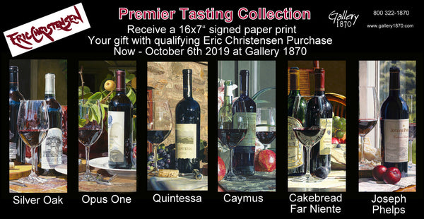 Premier Tasting Collection by Eric Christensen - A Gift With Purchase at Gallery 1870