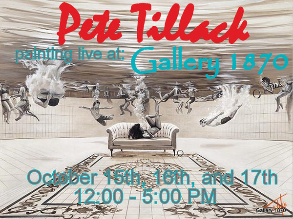 Pete Tillack Fall Show at Gallery 1870 in Yountvill