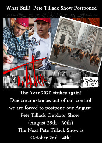 Pete Tillack Show at Gallery 1870