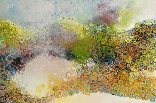 Electron as Both a Wave and Particle Canvas Print