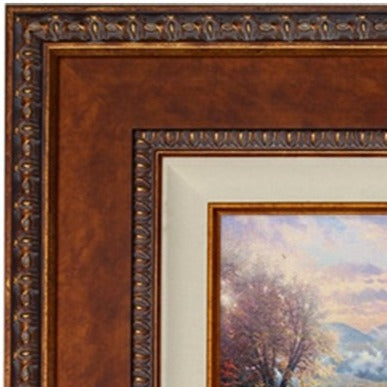 Copper Large Tuscan Wood Frame
