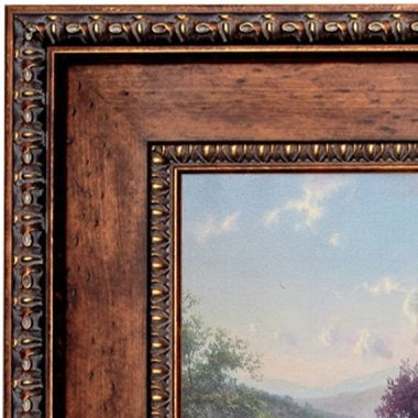 Rustic Large Tuscan Wood Frame