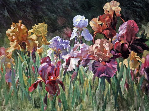 Iris Forever by Leon Roulette available at Gallery 1870