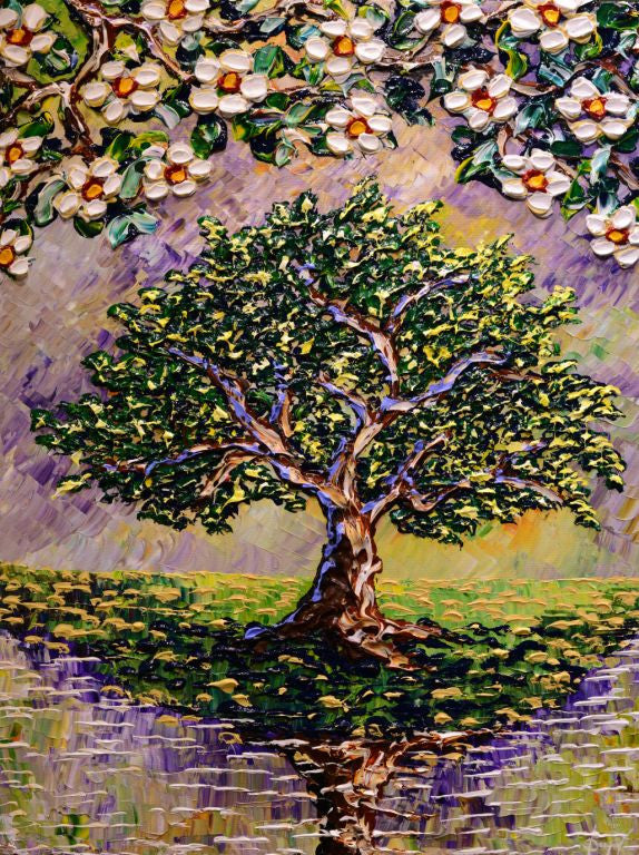 Magnolia in its Splendor Original 40x30""