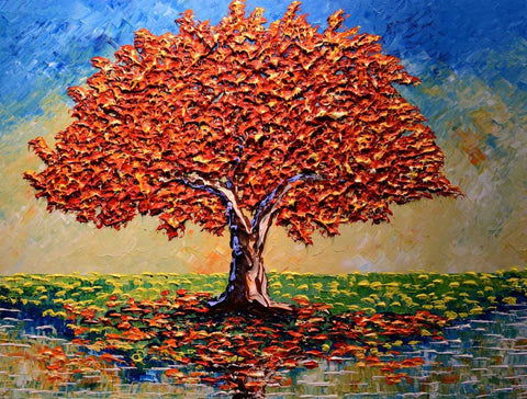 "Colorful Maple of Elegance 30x40"" original"
