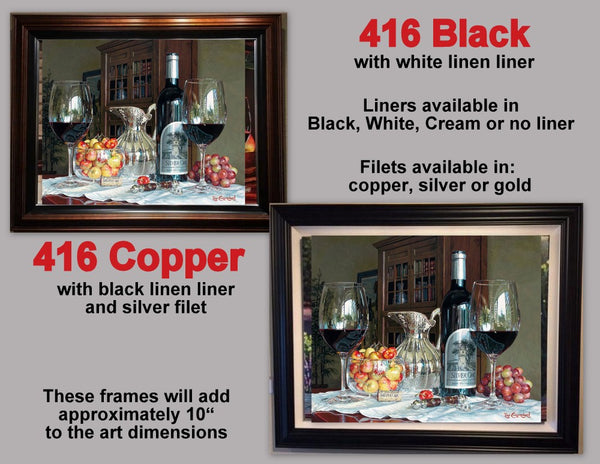 416 Black and Copper frames featuring A Moment of Reflection by Eric Christensen