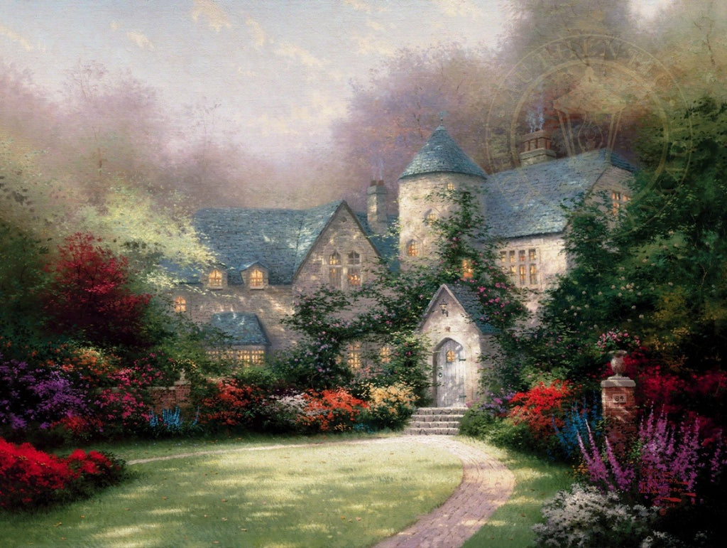 Beyond Autumn Gate by Thomas Kinkade