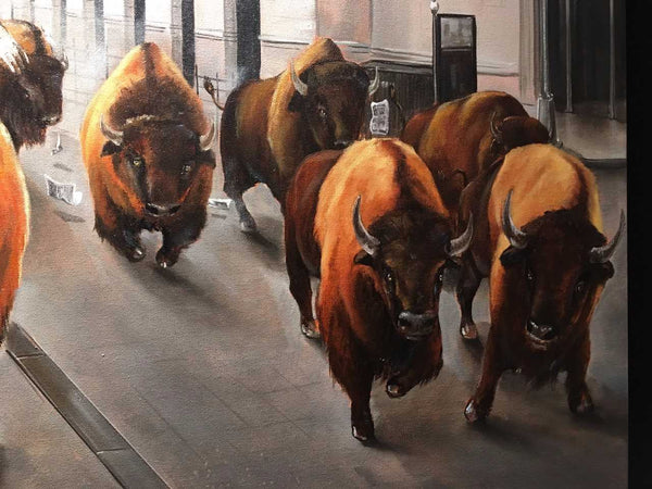 Close up image of Bull Market by Pete Tillack