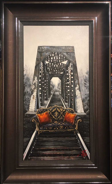Classically Royal by Pete Tillack - Custom Framed