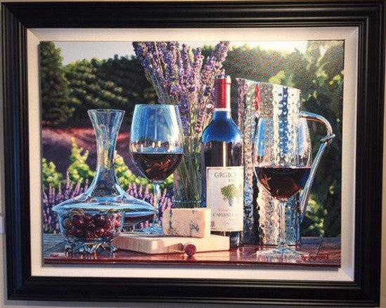 Destination Napa by Eric Christensen available at Gallery 1870 - Framing by Gallery 1870