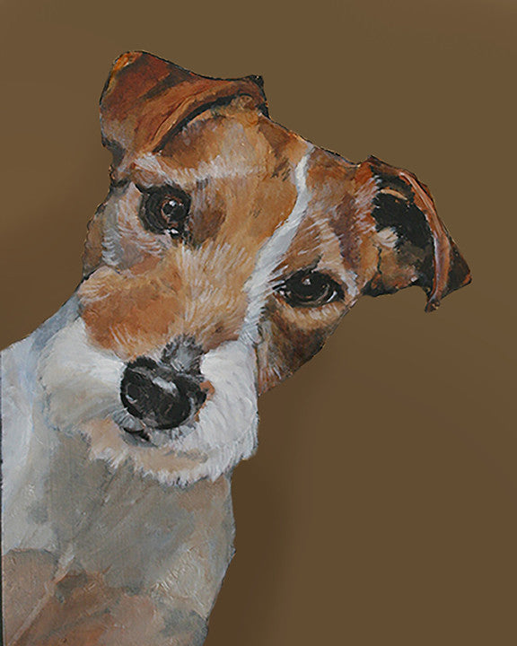 Jack Russell Terrier - Canvas Print