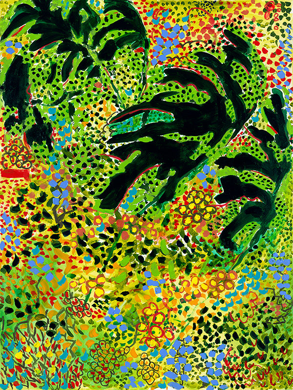Rain Forest - canvas giclee by JJ