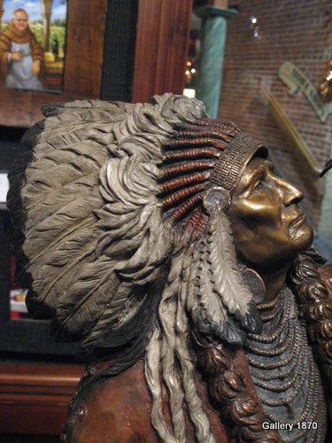 Freedom - Sculpture of Chief Joseph