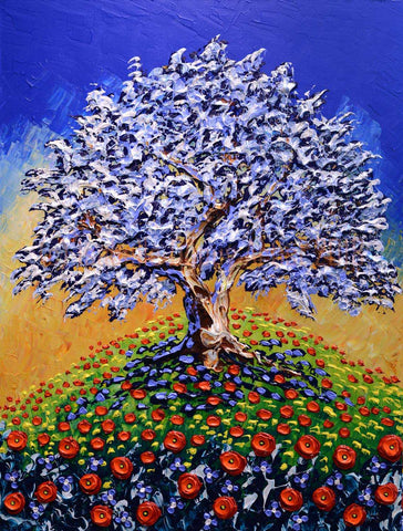 Gracious Olive Tree of Bright Meadows by Isabelle Dupuy