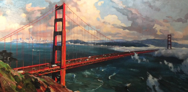 Grandeur of the Golden Gate - Canvas Print