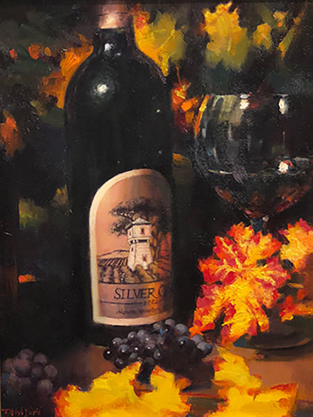 Silver Oak Autumn Color - Original 16x12