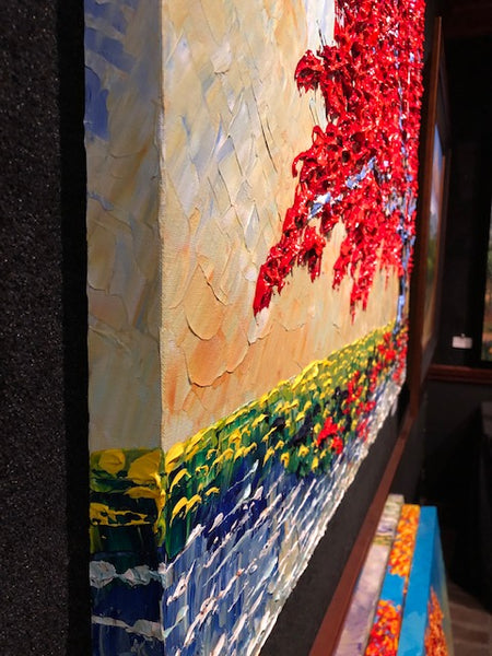 "Maple of Bright Colors 36x48"" original"