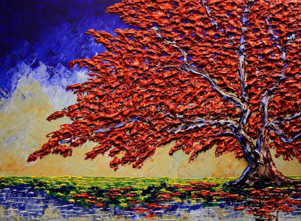Maple of Bright Colors by Isabelle Dupuy available at Gallery 1870