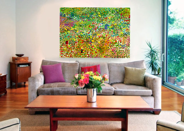 Meadow - Canvas Giclee by JJ