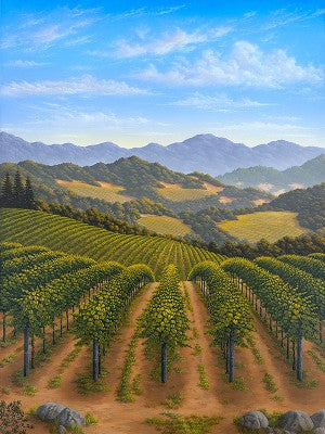 Mountain Vines Original Acrylic