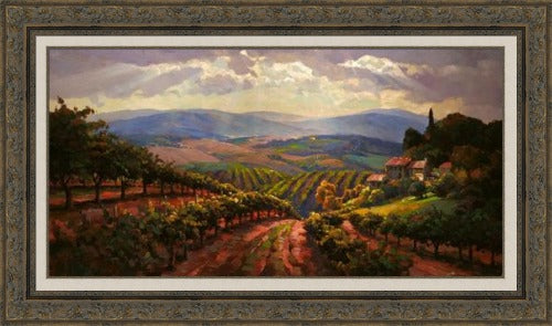 Tuscany Splendor - Canvas Print