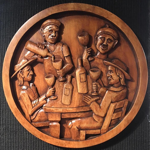 Pisanos woodcarving by master woodcarver Wyckoff
