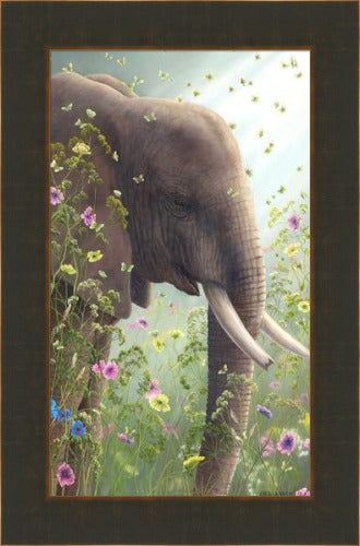 Presence I by Robert Bissell framed in Bronze
