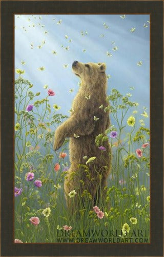 Presence II by Robert Bissell framed at Gallery 1870