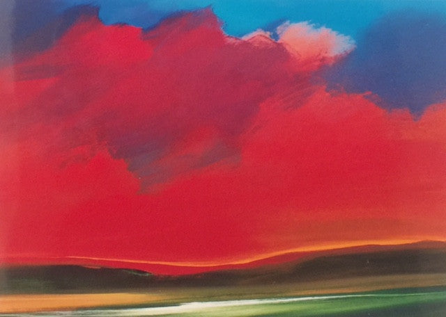 Red Hills - Original Acrylic - 30x40
