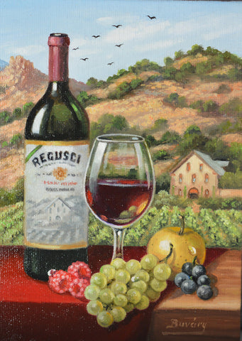 "Regusci 5 x 7"" original oil"