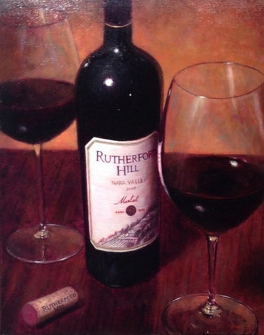 Rutherford Hill - Oriignal Oil 20x16""