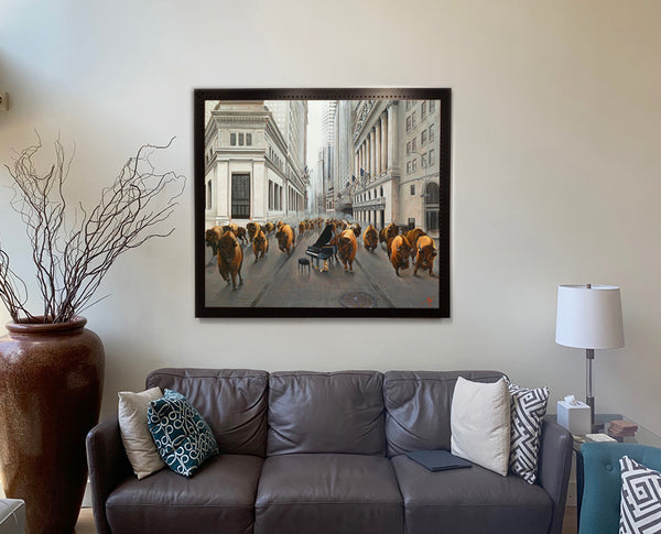 Bull Market by Pete Tillack in customer photo